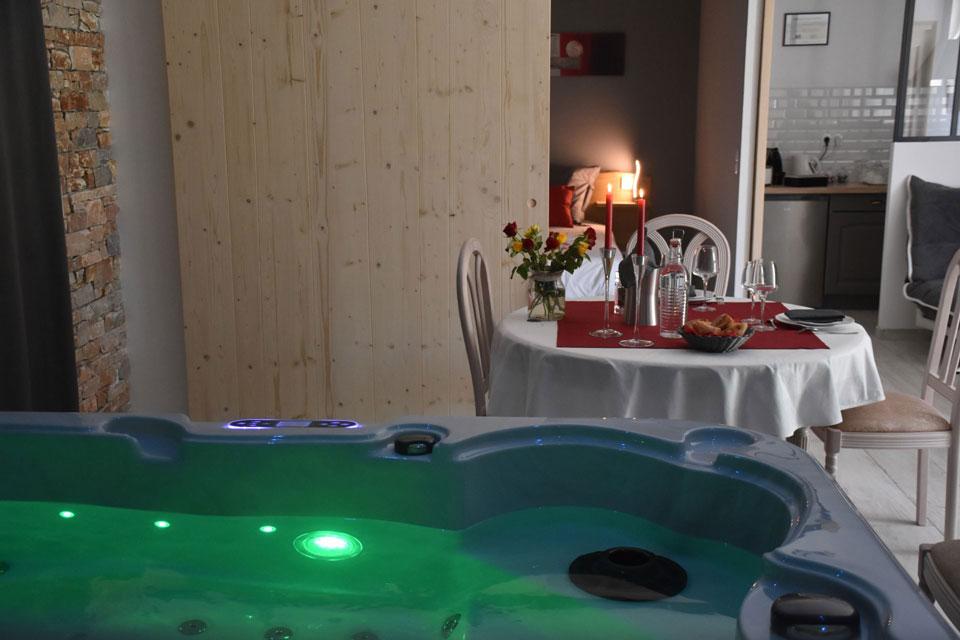 Chambre d 39 h te et spa aux m es en provence aux r ves des - Chambre d hote couleur bois et spa ...